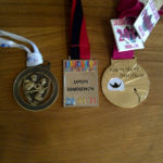 The medals so far
